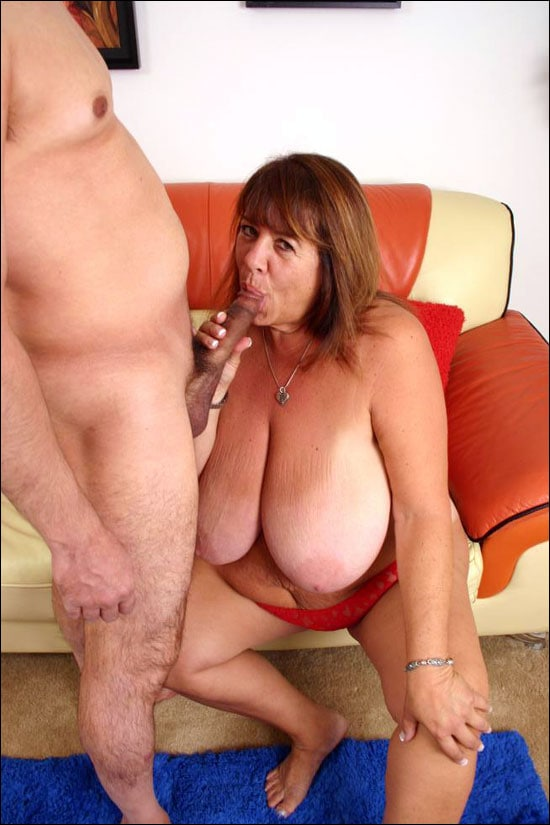 Hot BBW Mercy unleashes her bra busting knockers while she is giving off an awesome blowjob and then she is getting fucked hardcore style
