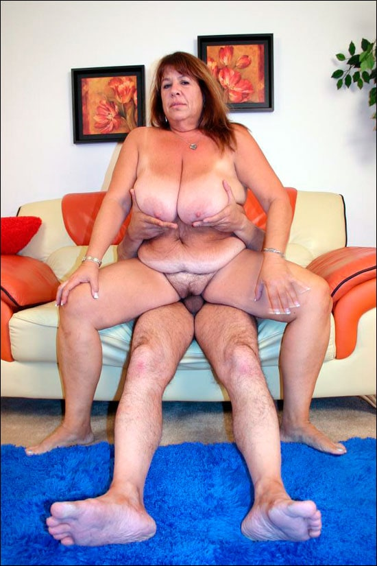 Sex starved fatty Mercy goes on her knees slurping a cock and then she gets used up in different positions over here in this bbw gallery